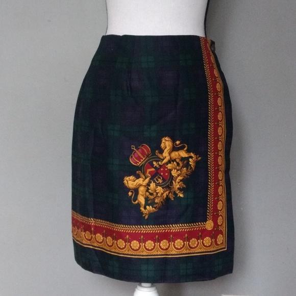 fd67329dde Cambridge dry goods Skirts | Tartan Wrap Skirt 285 Waist | Poshmark